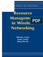 Resource ManageResource Management in Wireless Networkingment in Wireless Networking