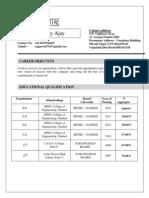 Uday Resume