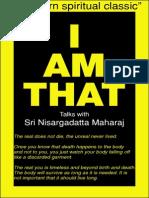 Sri Nisargadatta Maharaj - I Am That