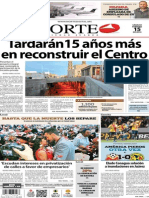 Periódico Norte edición impresa día 15 de febrero 2014