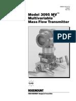 3095 Mass Flow Transmitter