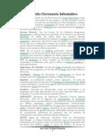 Pequeño Diccionario Informático