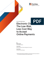 Electronic Checks ICA WP