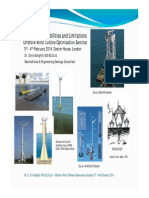 Offshore Wind Optimisation Seminar London 3rd February 2014
