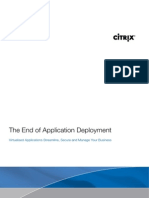 Application Virtualisation (200807 Citrix)