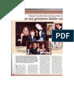 Wie is Lili Rosboch, de verloofde van prins Amedeo van België?