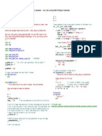 PEP-8 Cheatsheet (2009)