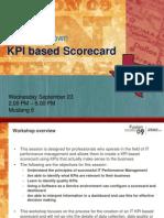 Design Your Own KPI Based Scorecard