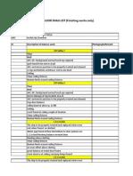 Copy of 24th Floor de Snag Lists
