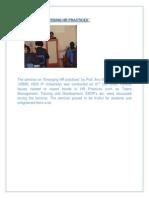 Emerging HR Practices