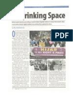 A Shrinking Space by Afiya Shehrbano Zia Newsline February 2014