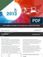 India Digital Future in Focus 2013