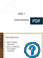 Unit 1 global marketing