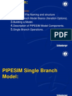 pipesim Day1 Single Branch