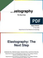 Elastography in Dentistry