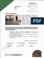 Accesibilidad de la antigua escuela de Larreineta. 2014-02-13