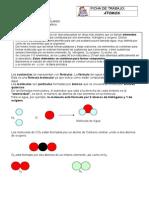 Ficha de trabajo 2 - Átomos