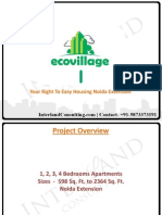 Supertech Eco Village 1 | Noida Extension