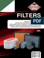 Фильтры для автомобилей