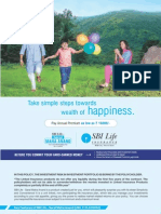 Saral Maha Anand Brochure New Version - SBI Life Insurance