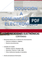 1 - Introduccion a Comunicaciones Electronicas