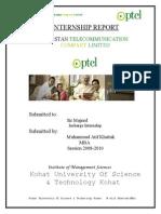 Ptcl Internship Report