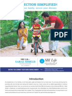 Saral Shield Brochure New Version - SBI Life Insurance