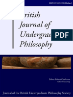 British Journal of Undergraduate Studies 2005