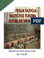 Strategija Razvoja Nautickog Turizma Hrvatske