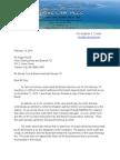BTA Attorney's Letter to Benzie Bd Attorney Re OMA Violations - 02-13-14