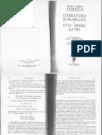 Curtius- Lit Europeana Si Evul Mediu Latin-extras