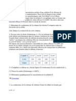 Exercice 3 Conductance