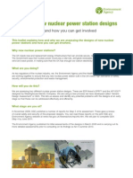 Design for Potential New Nuclear Power Stations