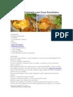 Bacalhau de Cebolada Com Ovos Escalfados