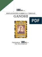 Gandhi Reflexiones Sobre La Verdad