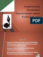 Implementasi Pendidikan Kepramukaan Dalam Kurikulum 2013