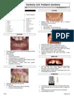 Pedo Tooth Anomalies
