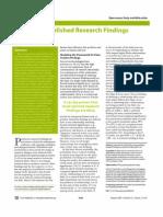 DPV Wiss False Research Findings