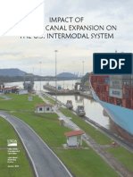 Panama Canal Expansion Impacts on the US Intermodal System | January 2010