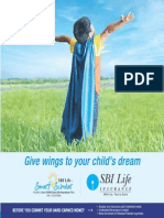 Child Plan -Smart Scholar Brochure V1 - SBI Life Insurance