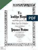 Brahms-Kirchner - Ein Deutsches Requiem (Pf e Coro)