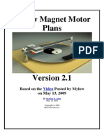 Mylow Magnet Motor Plans v2-1