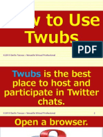 Darlin Tenoso - How to Use Twubs