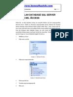 Mengolah Database SQL Server Dengan Access