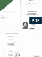 85067455 Jose Afonso Da Silva Aplicabilidade Das Normas Constitucionais