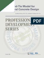 Strut and Tie Design for Concrete