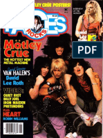 Mötley Crüe cover-story interview