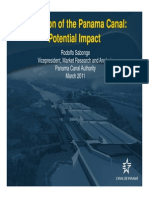 Panama Canal Expansion Trade Impacts | March 2011