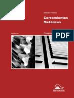Dossier Tecnico de Cerramientos Metalicos