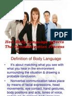 Body Language - Intro